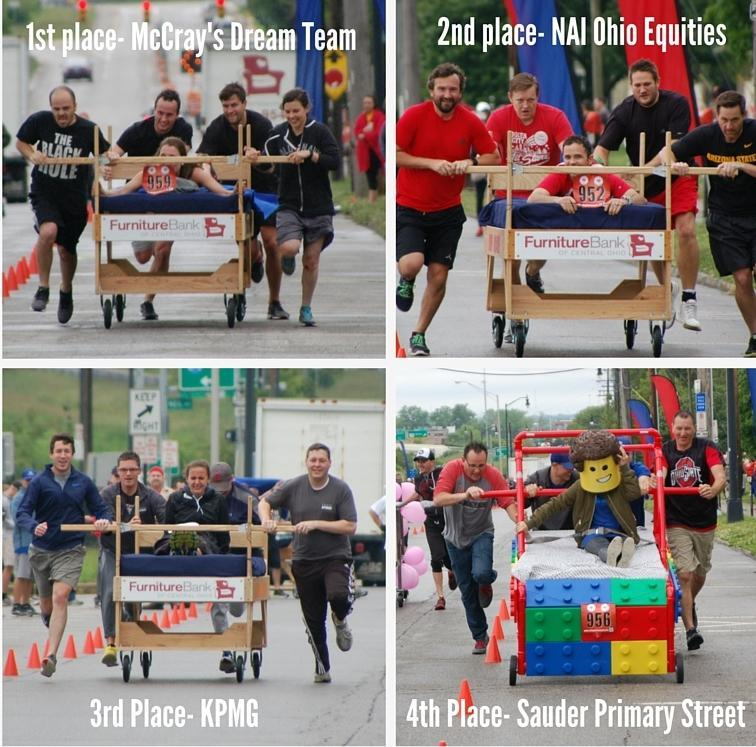 Bed Race Final Four