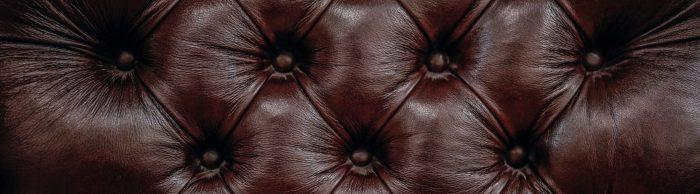 leather chair closeup